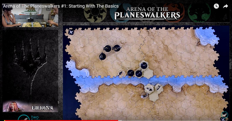 Arena of the Planeswalkers il gioco da Tavolo di Magic (e